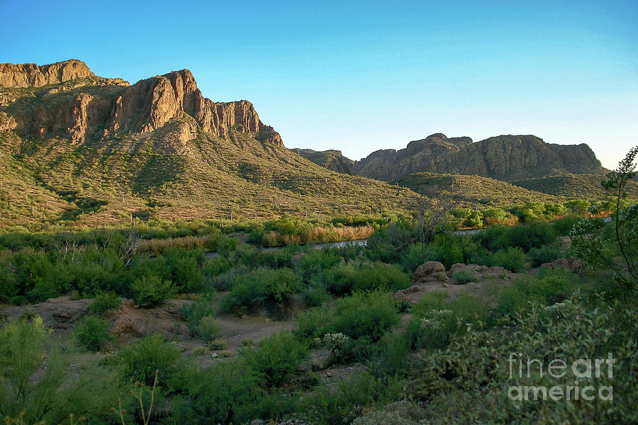 Mountains at Salt River by Chandra Nyleen