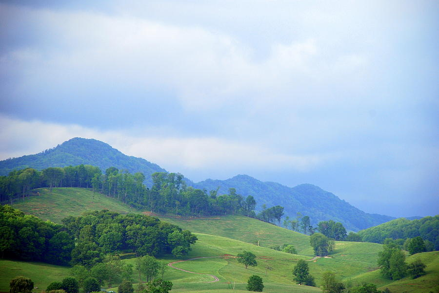 Scenic Photograph - Mountains of Appalachia by Patsy Phillips