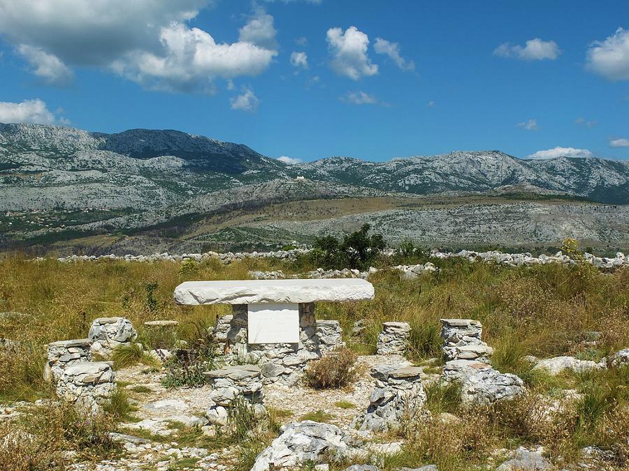 Mountains Photograph - Mountains Of Croatia by Olga Kurygina