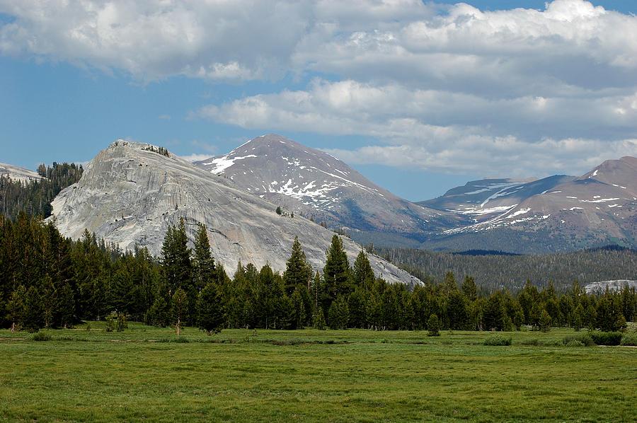 Mountains Of Yosemite Tuolumne Meadows Photograph