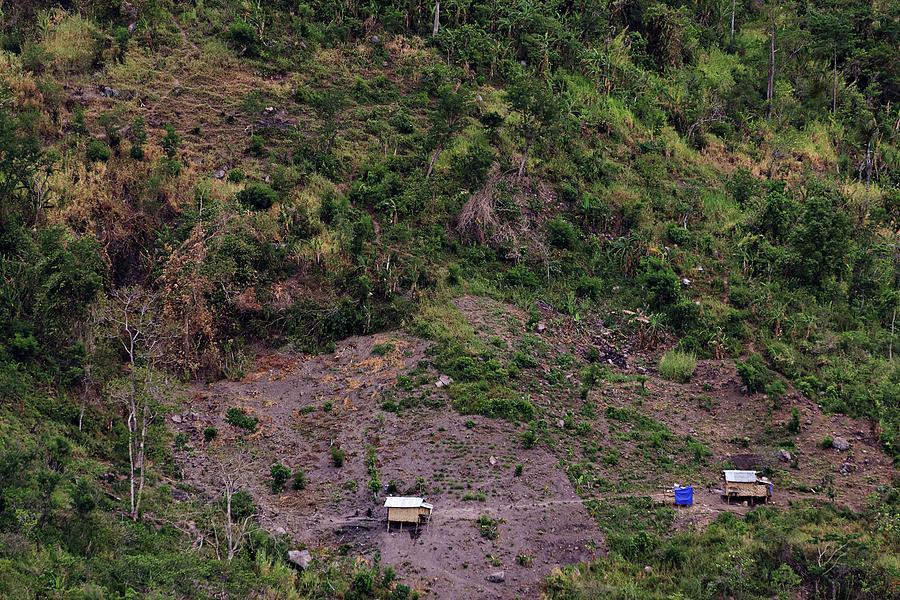 Mountainside Hut Photograph
