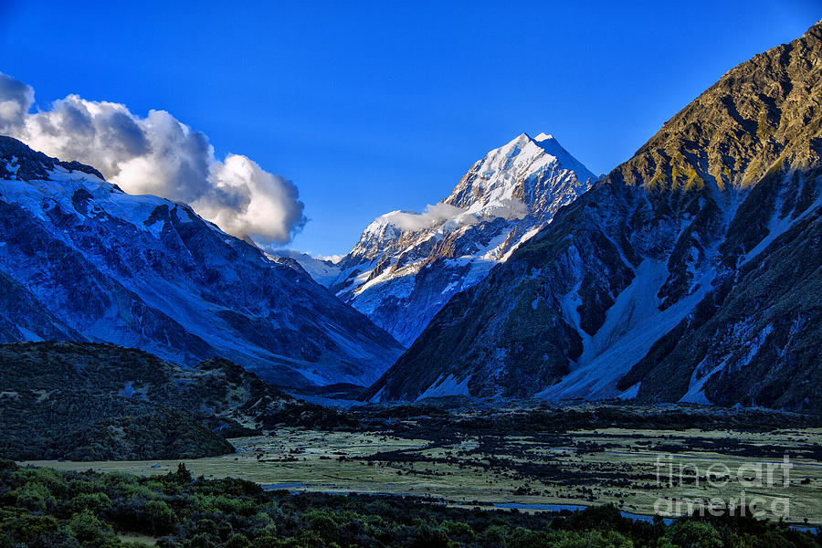 Moutain Valley Photograph by Rick Bragan