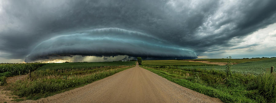 Sky Photograph - Mouth Of The Beast  by Aaron Groen