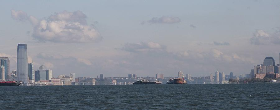 Hudson River Photograph - Mouth Of The Hudson by Christopher Kirby