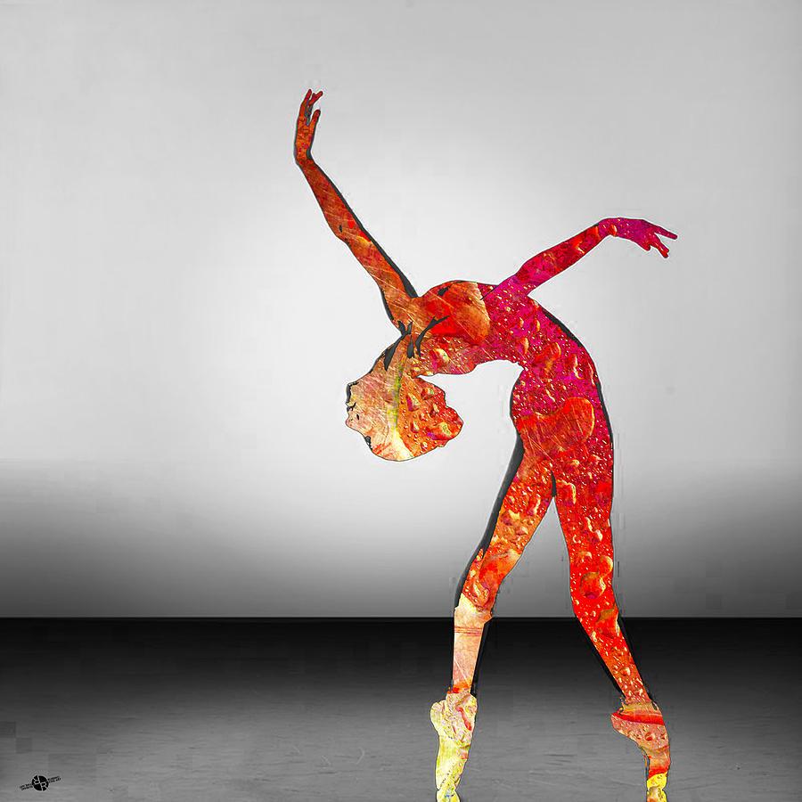 Woman Mixed Media - Move by Tony Rubino