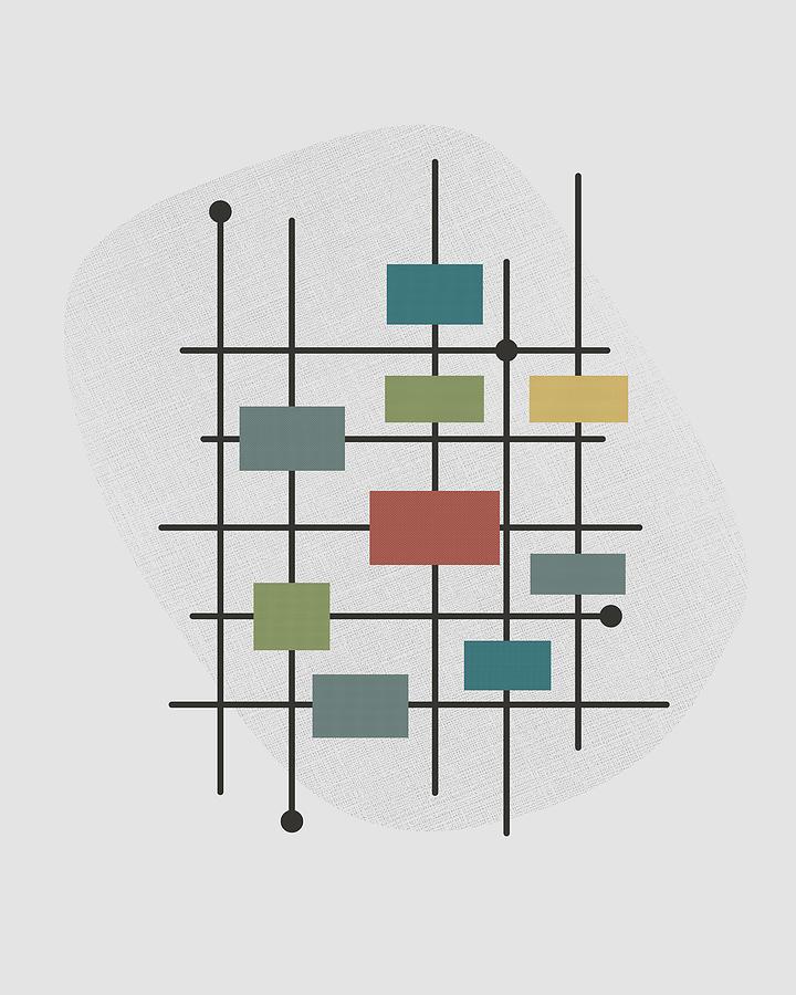 Pattern Digital Art - Movement - 1 by Finlay McNevin