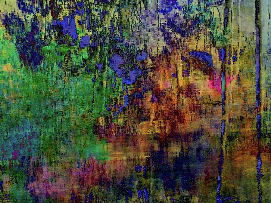 Movement Abstract Mixed Media