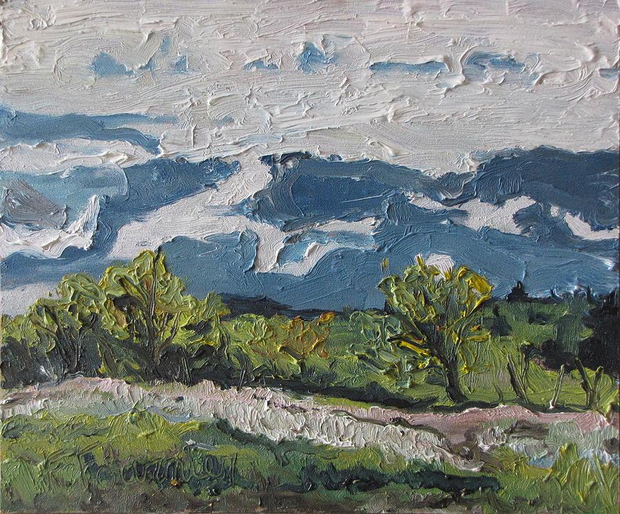 Landscape Painting - Movement by Francois Fournier