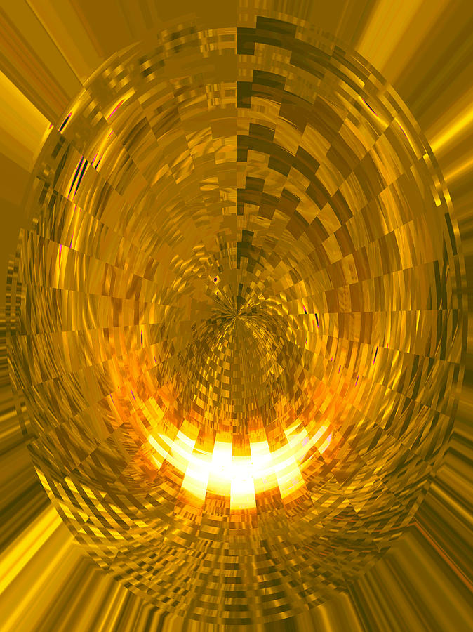 Moveonart Abstract Retro Light Action 1 Digital Art by Jacob Kanduch