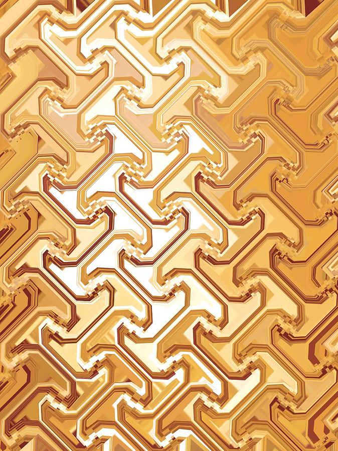 Moveonart New Patterns 1 Digital Art by Jacob Kanduch