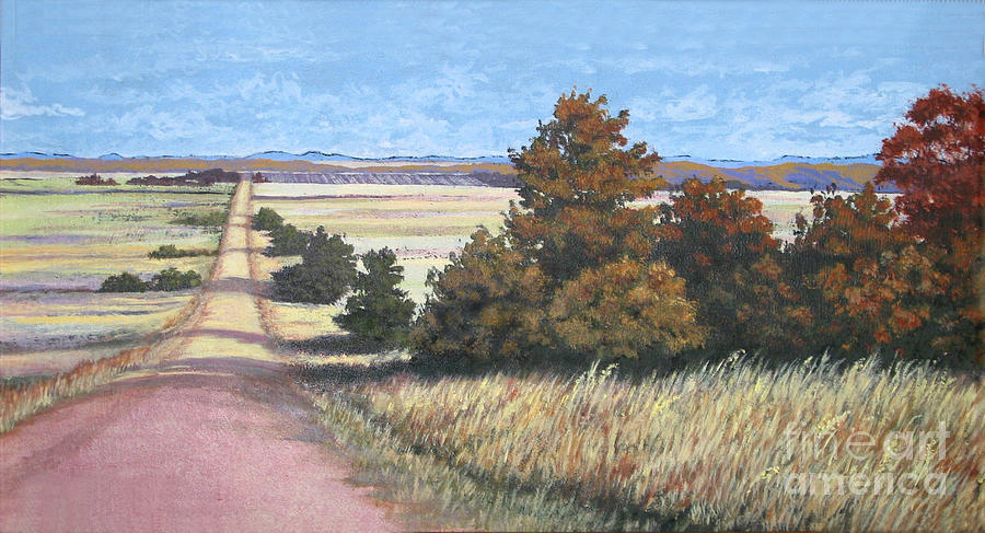 Nature Painting - Moving On by Diane Ellingham