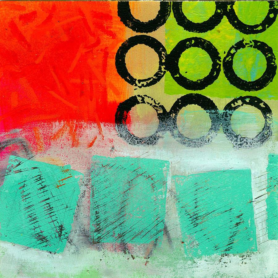 Jane Davies Painting - Moving Through 11 by Jane Davies