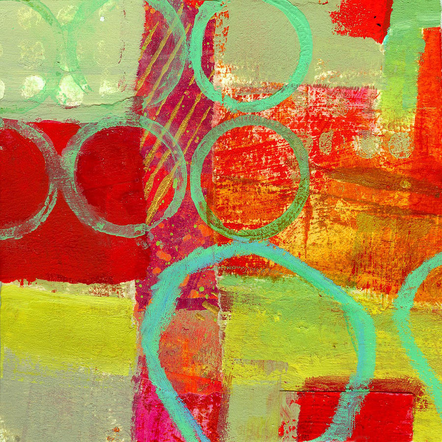 Abstract Painting - Moving Through 31 by Jane Davies