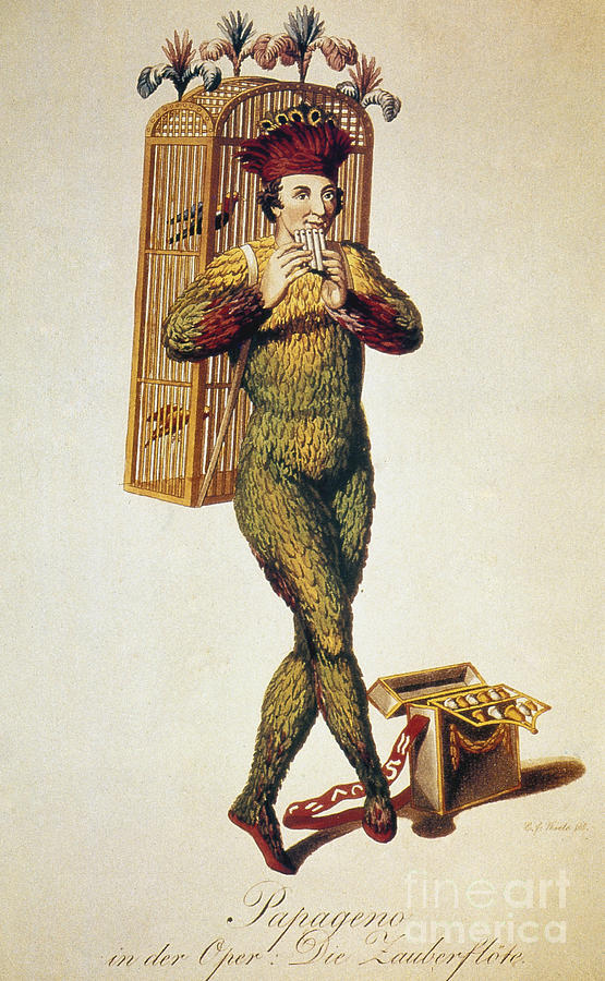 1791 Photograph - Mozart: Magic Flute, 1791 by Granger
