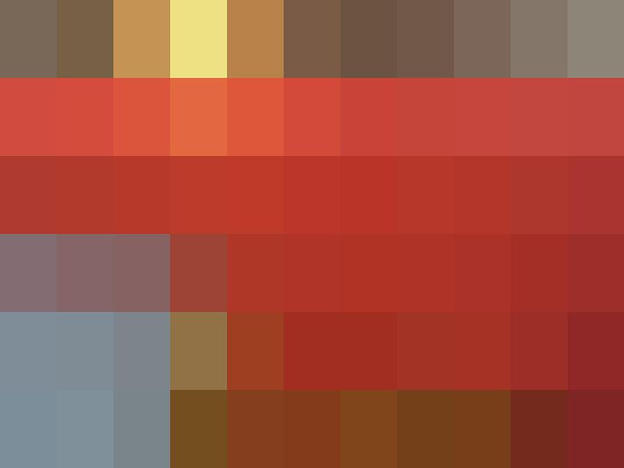 Minimal Digital Art - Mpliance To Nch - Context Series - Limited Run by Lars B Amble