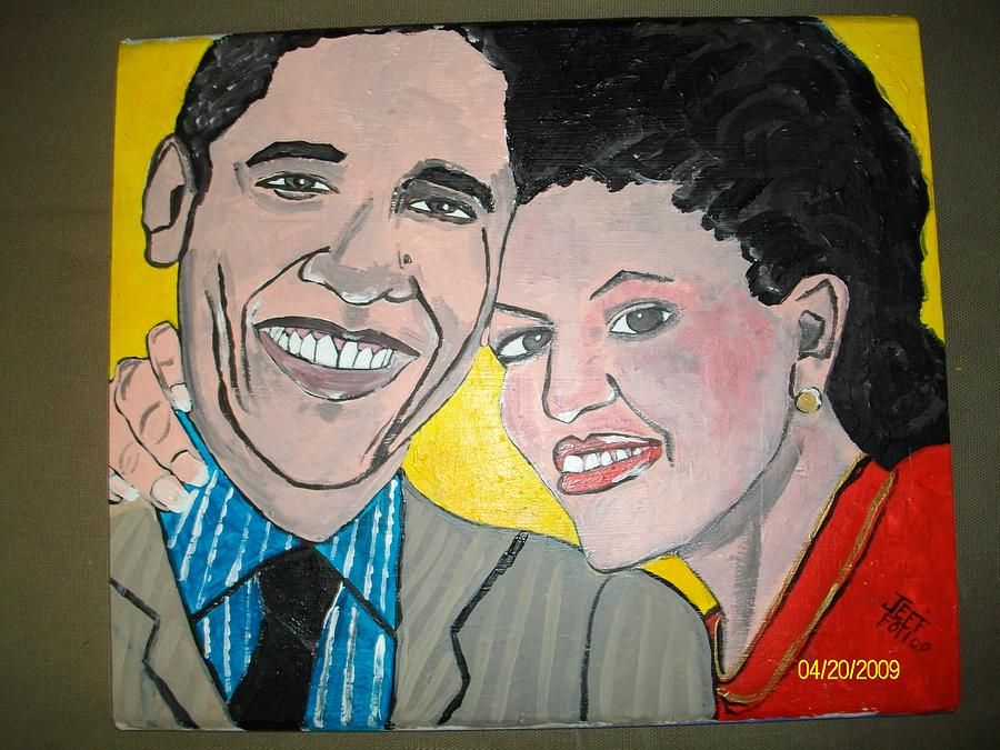 Mr And Mrs O Painting by Jeffrey Foti