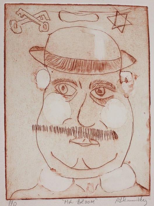 Mr Bloom Greeting Card by Roger Cummiskey