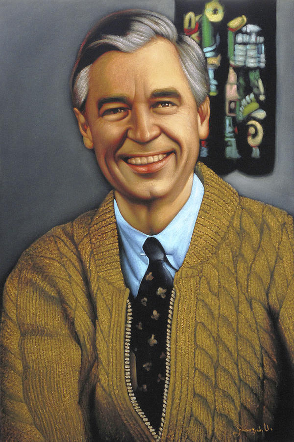 Mr Fred Rogers Painting By Zenon Matias Jimenez