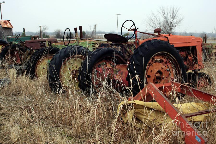 Tractors Photograph - Mr Haineys by Joy Tudor