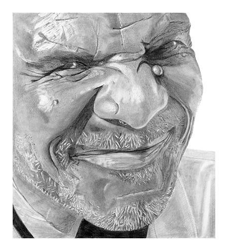 Portrait Drawing - Mr. Higs by John D Herz