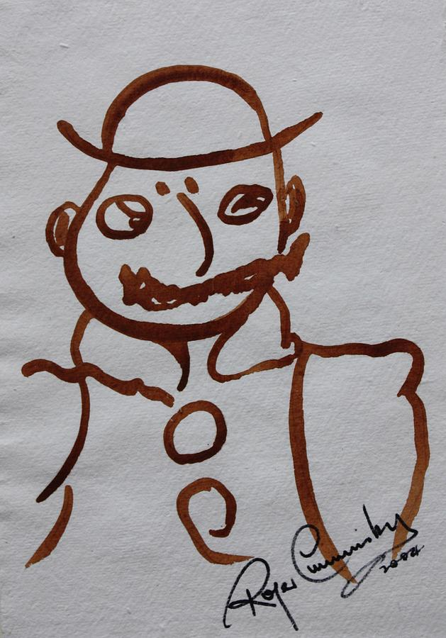 Mr Leopold Bloom Painting by Roger Cummiskey