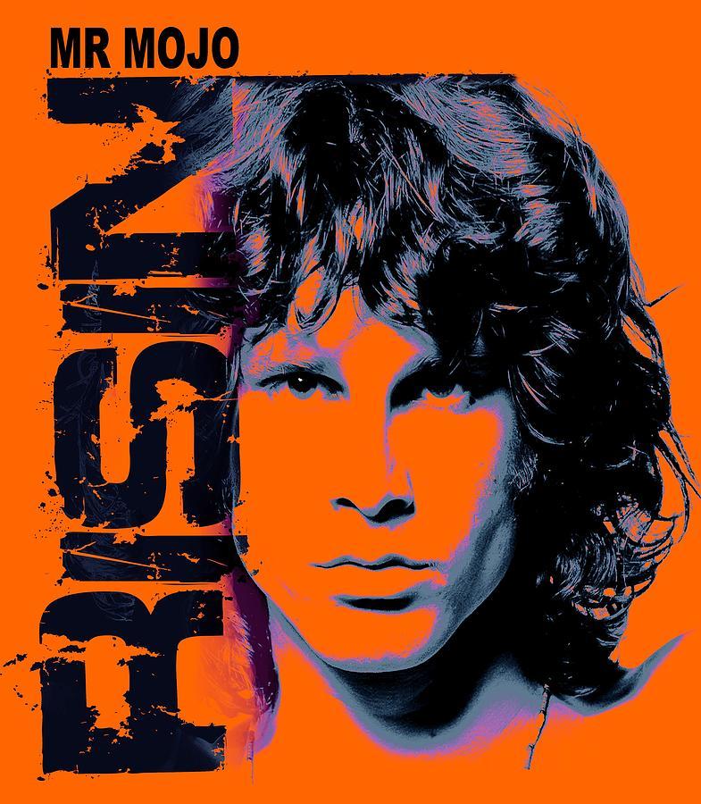 The Doors Digital Art - Mr Mojo Risin by Mal Bray