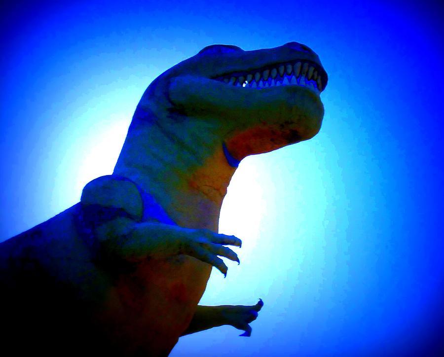 Dinosaur Photograph - Mr. Rex 2 by Randall Weidner