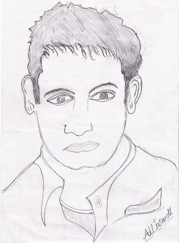 Mr.idiot Drawing by Mann Dharmendra Suthar