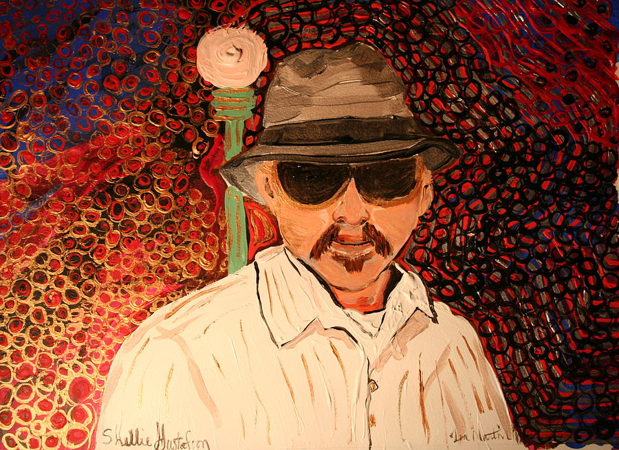 Mr.perez Painting by Shellie Gustafson