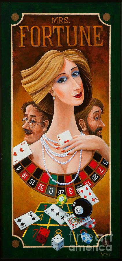 Figurative Painting - Mrs Fortune by Igor Postash
