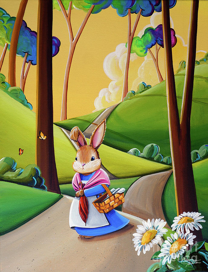 Mrs. Rabbit Heads Out by Cindy Thornton