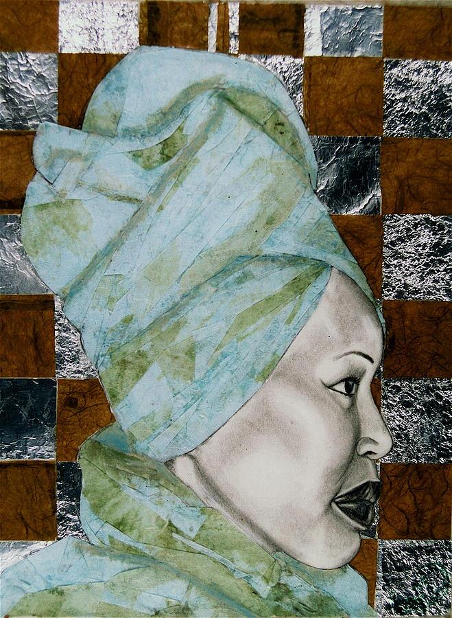 Malik Seneferu Drawing - Mrs. Seneferu by Malik Seneferu