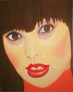 Pretty Painting - Ms. Pretty by Tom Braddock