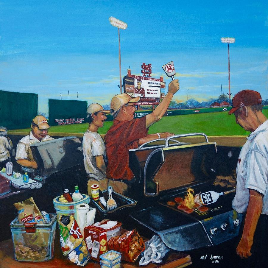MSU LEFT FIELD LOUNGE by Jeanette Jarmon