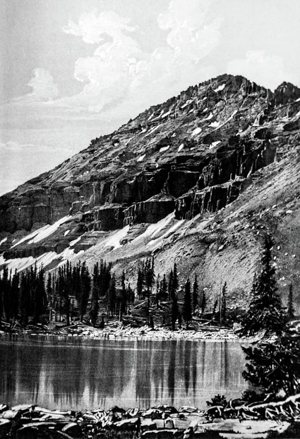 Mt Agassie Utah Photograph