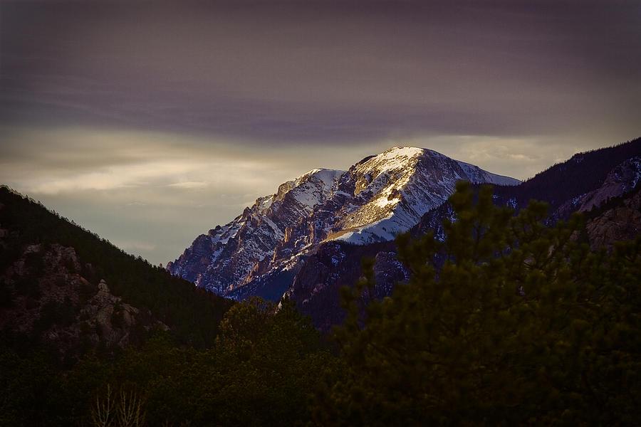 Mummy Range Photograph - Mt. Chapin by G Wigler
