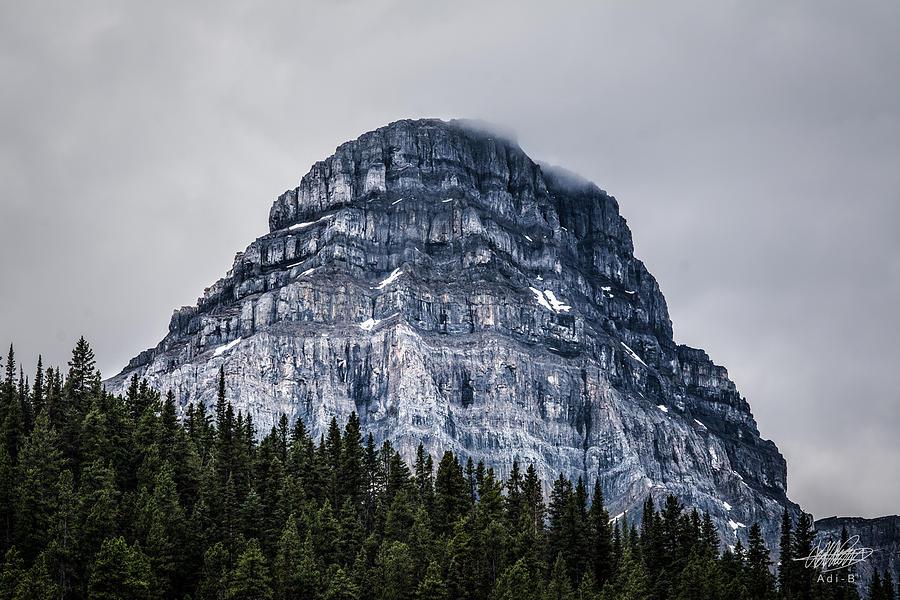 Photograph - Mt Chephern  by Adnan Bhatti