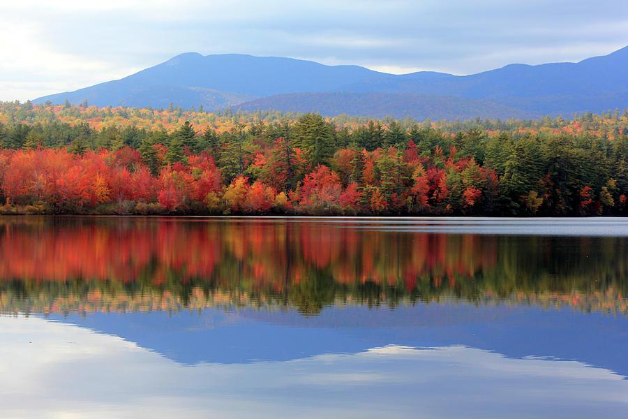 Landscape Photograph - Mt. Chocorua Reflections I by Lynne Guimond Sabean