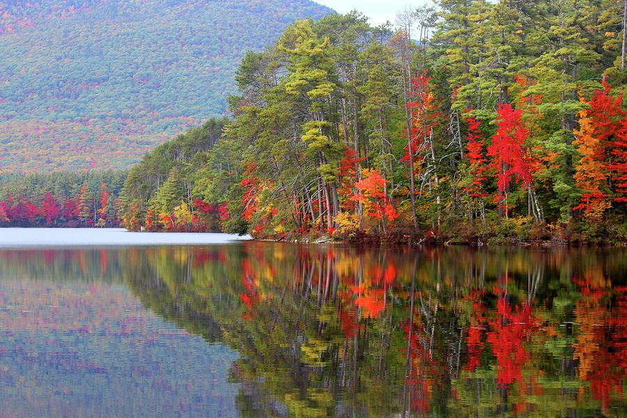 Landscape Photograph - Mt. Chocorua Reflections II by Lynne Guimond Sabean