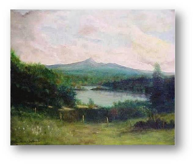 Mountains Painting - Mt. Chocorua by Brian Higgins