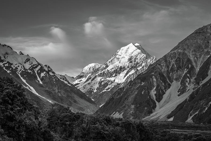 Mt Cook Photograph - Mt Cook Wilderness by Racheal Christian