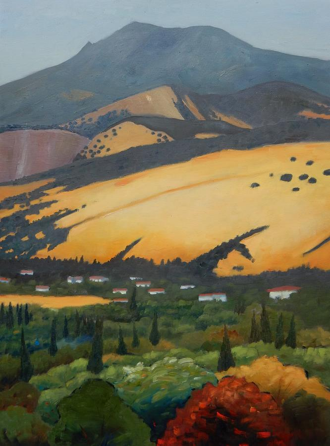 Mt. Diablo Above by Gary Coleman