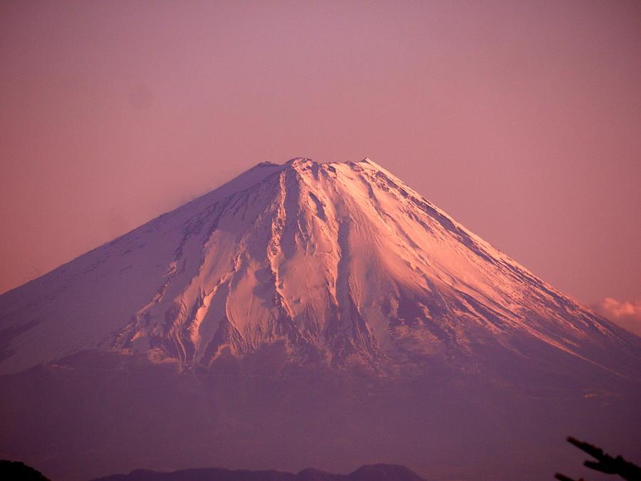 Horizontal Photograph - Mt. Fuji, Yamanashi,japan by Juno808
