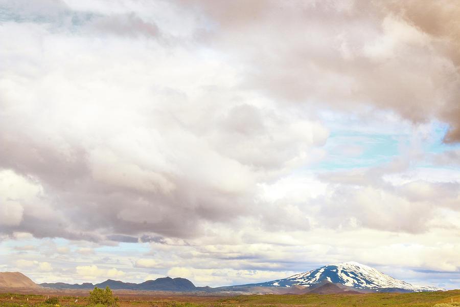 Hekla Photograph - Mt Hekla by Sigrun Saemundsdottir