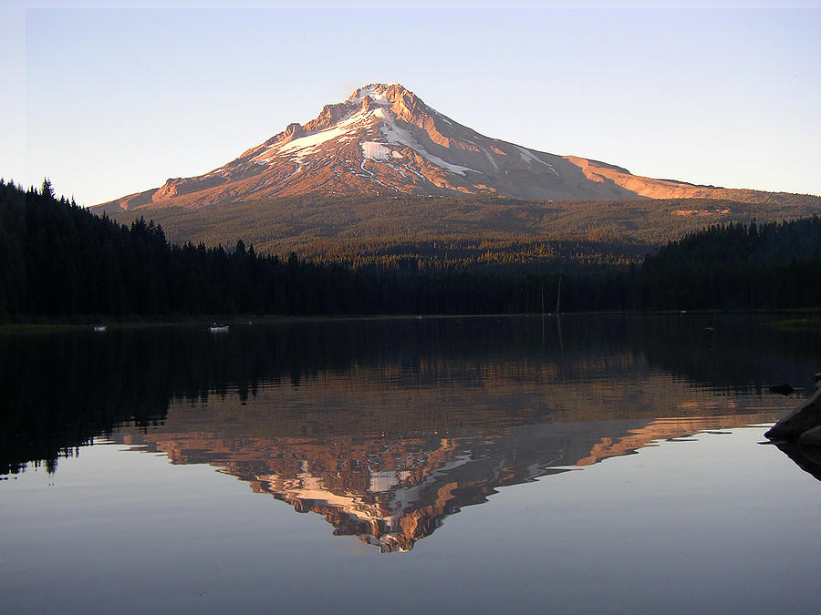 Nature Photograph - Mt Hood by Eric Workman
