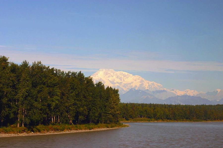Mt. Mckinley Alasa 0755 Photograph by Jack G  Brauer