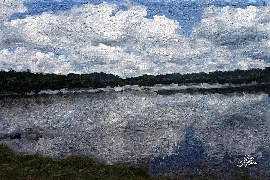Mt. Pocono Landscape Painting