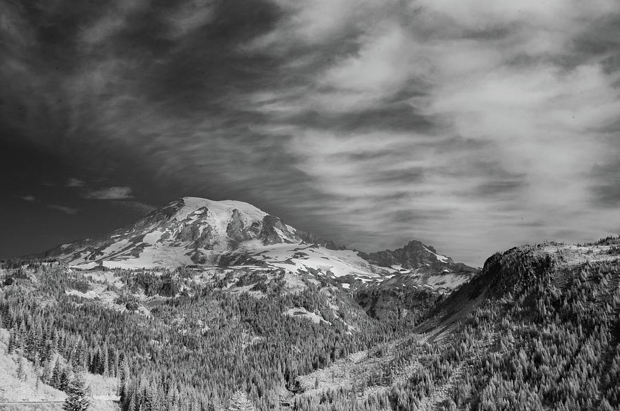 Mt. Rainier by Bob Cournoyer