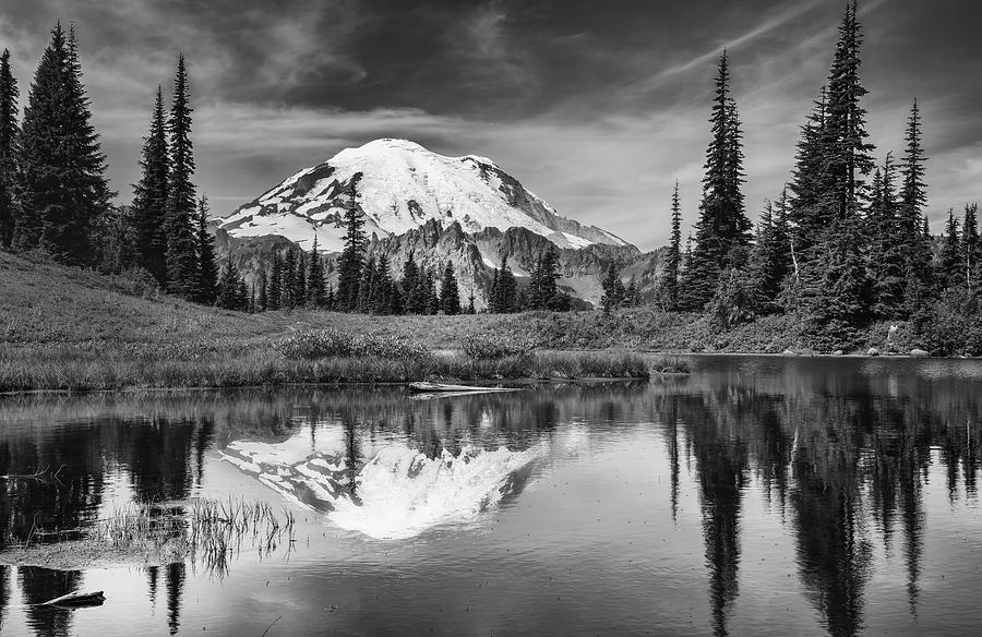 Mt Rainier in Reflection by Harold Coleman