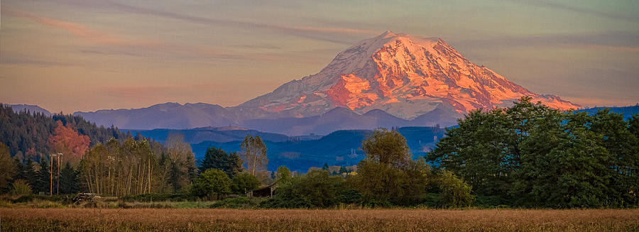 Bildergebnis für Mount Rainier in Fall